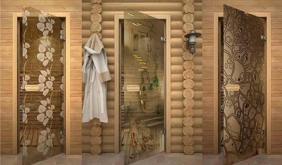 фото дверей для бани и сауны