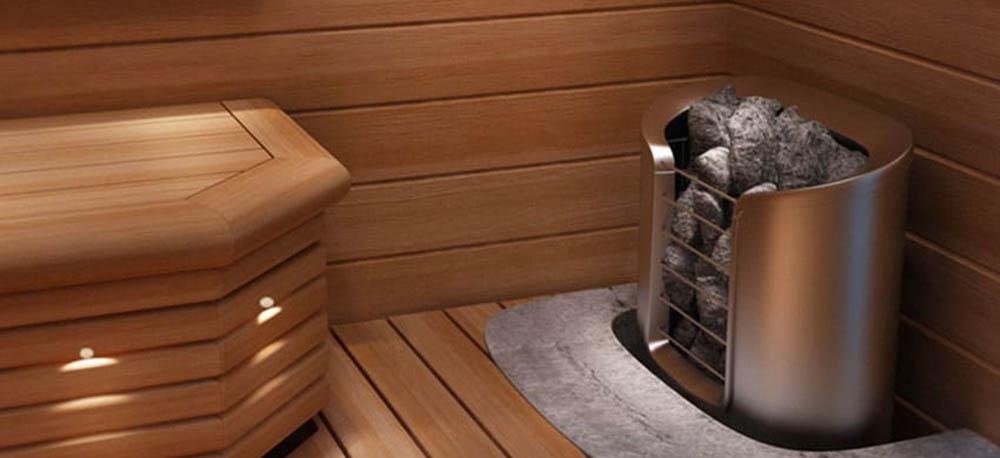 Фото электрокаменки для сауны